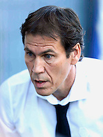 Rudi Garcia during italian serie a soccer match between Frosinone e Roma