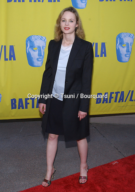 Thora Birch arriving at the BAFTA / LA Tea Party at the St regis Hotel in Los Angeles. January, 24, 2004.