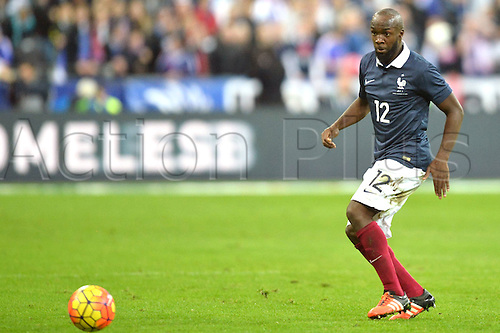 13.11.2015. Stade de France, Paris, France. International football friendly. France versus Germany.  LASSANA DIARRA . The game was parially interupted as the paris terror attacks took place and bombs were heard going off outside the stadium.
