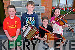Lixnaw Feile Cheoil : Attending the Feile Cheoil held at the Cheolann  Centre, Lixnaw at the weekend were Tom , Paddy & Alan Foley & Louise Leahy.