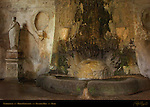 Nymphaeum below Fontana del Teatro Horti Farnesiani Palatine Hill Rome