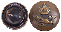 BNPS.co.uk (01202 558833)<br /> Pic: C&amp;TAuctions/BNPS<br /> <br /> WW2 Royal Air Force Tunic Button with Concealed Compass.<br /> <br /> A lethal arsenal of secret weapons World War Two spies carried with them to nullify German soldiers has emerged over 70 years later.<br /> <br /> The chilling collection consists of seemingly everyday items which, on closer inspection, conceal a deadly James Bond-style tool secret agents could turn to in the event of being rumbled.<br /> <br /> One such object is an 'assassination lapel spike' - a decorative steel pin to be worn on the lapel of a jacket but when fully exposed is a slender 4ins long dagger with a razor-sharp barb.<br /> <br /> They are being sold at Kent auction hose C&amp;T.