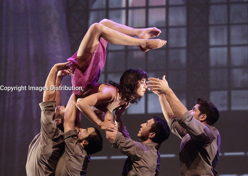 August 2013 File photo - Cirque Eloize perform at Cirkopolis 2013