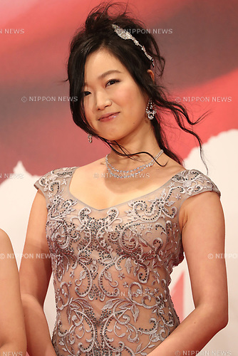 Kokone Sasaki, October 25, 2017 - The 30th Tokyo International Film Festival, Opening Ceremony at Roppongi Hills in Tokyo, Japan on October 25, 2017. (Photo by 2017 TIFF/AFLO)