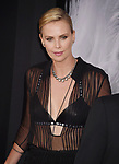 LOS ANGELES, CA - JULY 24: Actress/producer Charlize Theron arrives at the Premiere Of Focus Features' 'Atomic Blonde' at The Theatre at Ace Hotel on July 24, 2017 in Los Angeles, California.