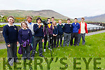 Kerry Film maker in residence at Kerry Co-Co Éanna de Buis with TY students from Colaiste na Sceilge, Cahersiveen making a short film on the Old Iveragh Railway Line pictured here l-r; Claire Sugrue, Maria Sands, Éanna de Buis, Nuno Martinez, Michael Daly, Jim Lynch, Alanah O'Shea, Cian O'Shea, Matthew O'Neill, Ché Flaherty & Jessie Coffey.