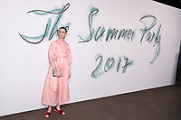 Erin O'Connor at The Summer Party presented by Serpentine Galleries and Chanel, London, UK - 28 Jun 2017. <br /> Picture: Steve Vas/Featureflash/SilverHub 0208 004 5359 sales@silverhubmedia.com