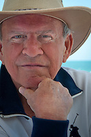 Bobby Rydell poses along the Gulf of Mexico at LaPlaya Beach Resort, Naples, Florida, USA. Photo by Debi Pittman Wilkey
