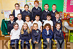 Ms Newman's Junior Infants class in Glenderry NS in Ballyheigue.