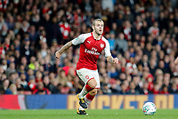 Jack Wilshere of Arsenal during the Carabao Cup match between Arsenal and Norwich City at the Emirates Stadium, London, England on 24 October 2017. Photo by Carlton Myrie.