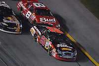 Feb 10, 2007; Daytona, FL, USA; Nascar Nextel Cup driver Boris Said (60) leads Dale Earnhardt Jr (8) during the Budweiser Shootout at Daytona International Speedway. Mandatory Credit: Mark J. Rebilas