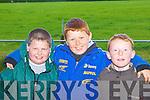 Sean Regan Kilmoyley, Connie and Conor O'Connor Abbeyfeale having fun at the Castleisland Coursing meeting in Cahills Park, Castleisland on Sunday     Copyright Kerry's Eye 2008
