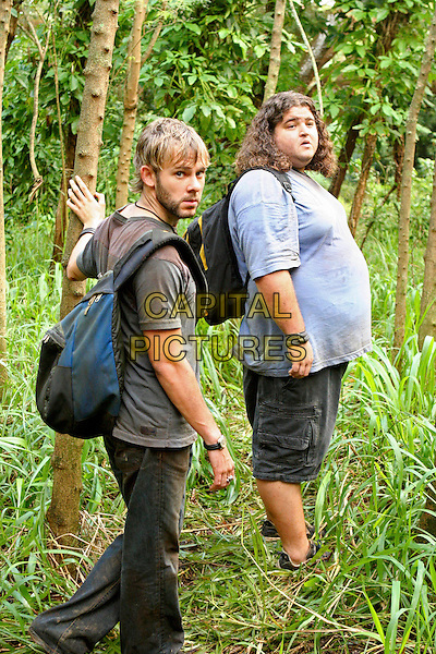 """DOMINIC MONAGHAN & JORGE GARCIA.in Lost.""""Numbers"""".*Editorial Use Only*.www.capitalpictures.com.sales@capitalpictures.com.Supplied by Capital Pictures."""
