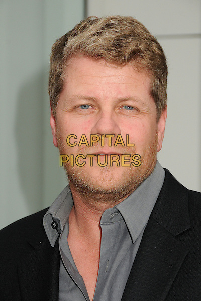 "Michael Cudlitz.""Television: Out Of The Box"" Museum Exhibit created by Warner Bros. Television Group held at The Paley Center, Beverly Hills, California, USA..April 12th, 2012.headshot portrait black grey gray stubble facial hair .CAP/ADM/BP.©Byron Purvis/AdMedia/Capital Pictures."