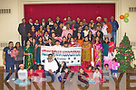 INDAIN CHRISTMAS: Member's of the Kerry Indian Association enjoying a great time at their Christmas party at the CBS Clounalour school, Tralee on Sunday.