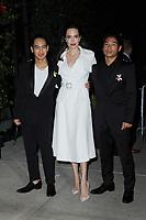 www.acepixs.com<br /> September 14, 2017 New York City<br /> <br /> Maddox Jolie-Pitt, Angelina Jolie, Pax Jolie-Pitt seen on September 14, 2017 in New York City.<br /> <br /> Credit: Kristin Callahan/ACE Pictures<br /> <br /> <br /> Tel: (646) 769 0430<br /> e-mail: info@acepixs.com