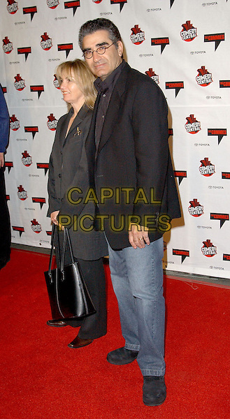 "EUGENE LEVY.attends Comedy Central's First Ever Award Show ""The Commies"" held at Sony Pictures Plaza in Culver City.22/11/2003.full length, full-length.www.capitalpictures.com.sales@capitalpictures.com.©Capital Pictures."