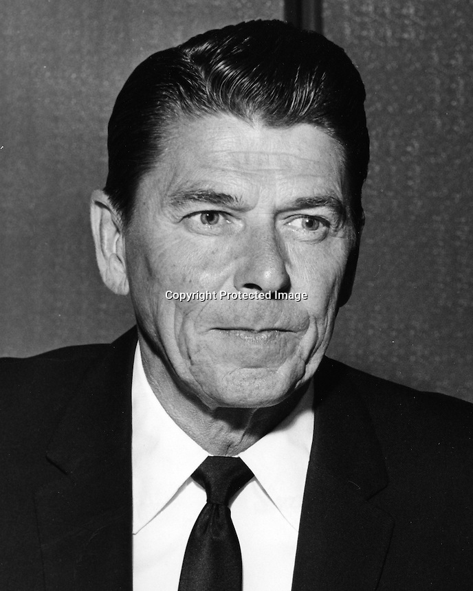 Ronald Reagan, 40th President of the United States, pictured in 1967. (photo by Ron Riesterer)