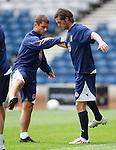 Shaun Maloney and Jamie McAllister