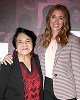 LOS ANGELES - NOV 2:  Carly Craig, Dolores Huerta at the Power Women Summit - Friday at the InterContinental Los Angeles on November 2, 2018 in Los Angeles, CA
