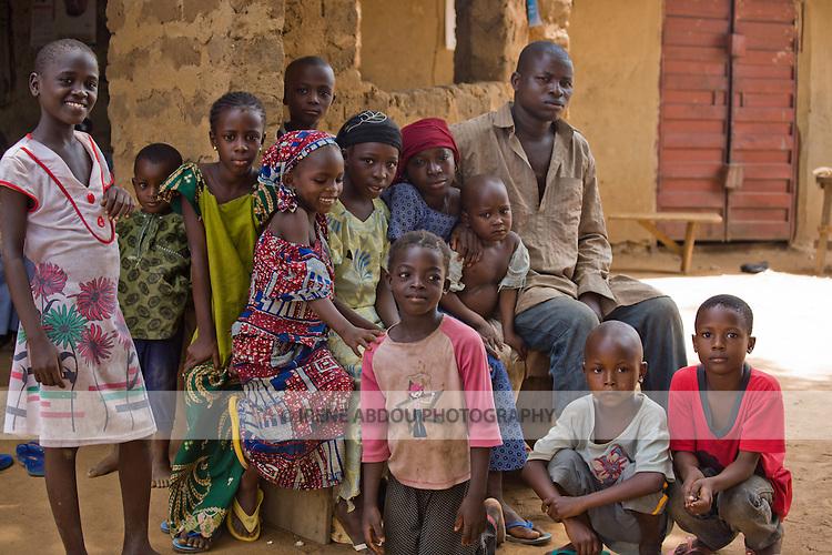 Children in Abuja, Nigeria