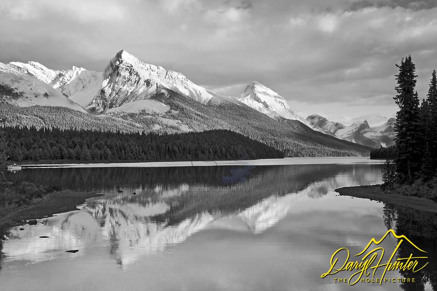 Leah Peak, Sampson Peak, Malingne Lake, Jasper National Park