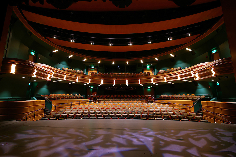 Patricia George Decio Theater, Marie DeBartolo Center for the Performing Arts..Photo by Matt Cashore.