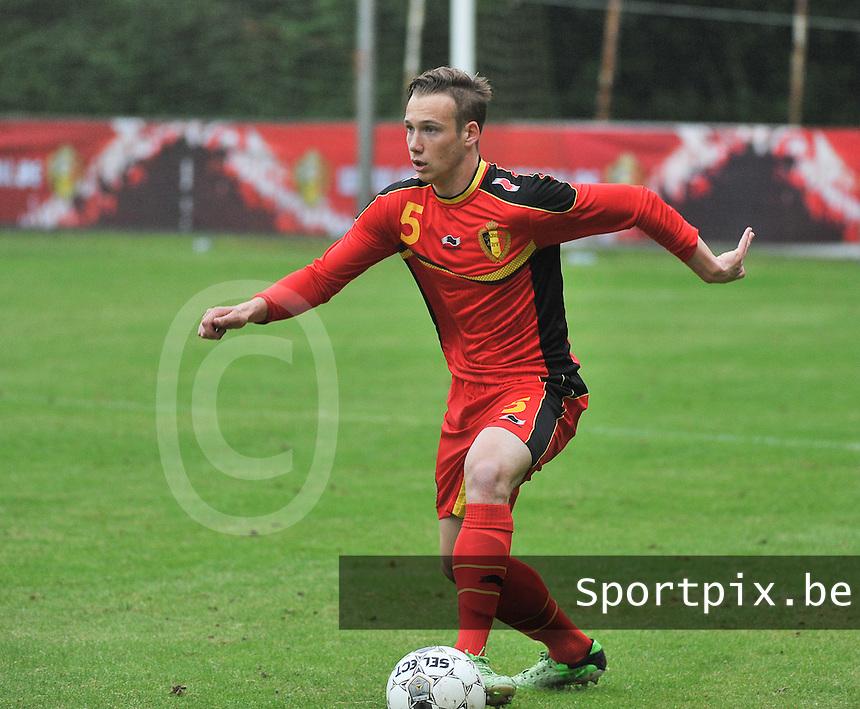 Georgia U19 - Belgium U19 : Alexander Corryn<br /> foto DAVID CATRY / Nikonpro.be