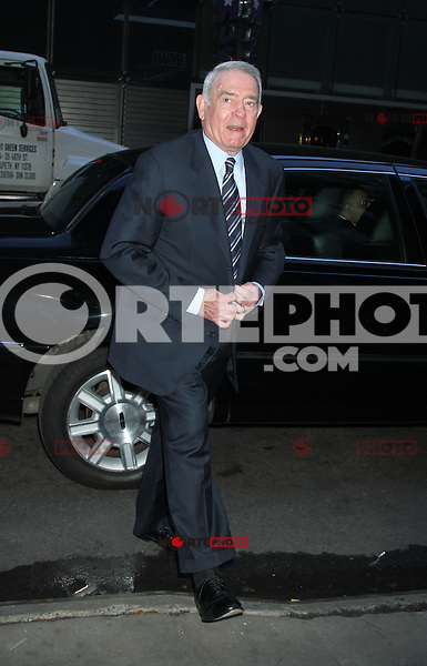 April 30, 2012: Dan Rather at Good Morning America the talk about his new book Rather Outspoken: My Life in the News. New York City. Credit: RW/MediaPunch Inc.
