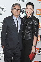 NEW YORK, NY - OCTOBER 11: Director Griffin Dunne and Julianna Margulies attend the 55th NYFF World Premiere of &quot;Joan Didion: The Center Will Not Hold &quot; at Alice Tully Hall on October 11, 2017 in New York City. <br /> CAP/MPI/JP<br /> &copy;JP/MPI/Capital Pictures