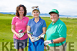 At the Tralee Golf Club Lady President's Prize at Barrow on Sunday were Caitriona Mehigan, Ann Kerins and Joan Cantillan