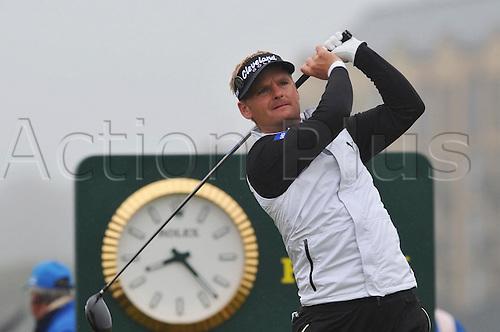 15/07/10 Soren Kjelsen (DEN) in  action  on the Old Course , St  Andrews, Fife, Scotland in the first round of  British Open Championship