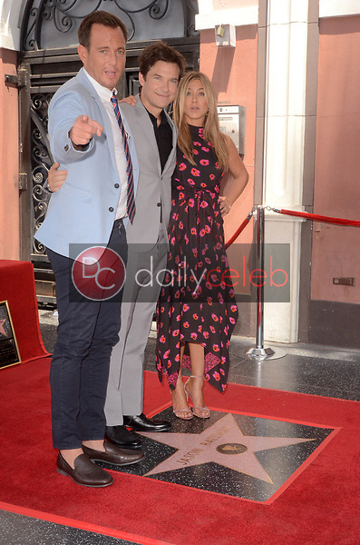 Will Arnett, Jason Bateman, Jennifer Aniston<br /> at the Jason Bateman Star on the Hollywood Walk of Fame, Hollywood, CA 07-26-17<br /> David Edwards/DailyCeleb.com 818-249-4998