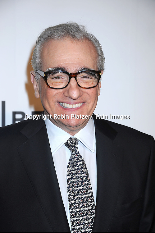 "Martin Scorsese attending The opening night of The Tribeca Film Festival .Screening of "" The Union"" on April 20, 2011 at The Winter Garden at the World Financial Plaza in New York City."