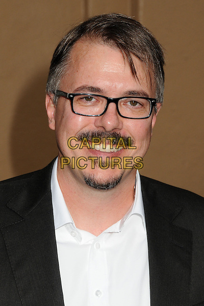Vince Gilligan<br /> &quot;Breaking Bad&quot; Final Episodes Los Angeles Premiere Screening held at Sony Pictures Studios, Culver City, California, USA, 24th July 2013.<br /> portrait headshot glasses beard facial hair white shirt  <br /> CAP/ADM/BP<br /> &copy;Byron Purvis/AdMedia/Capital Pictures