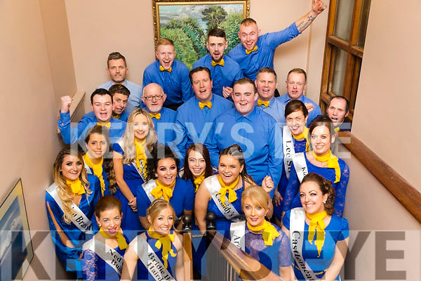 The Dancers before taking the stage at Ballymac Strictly Come Dancing, at Ballygarry House Hotel & Spa, Tralee, on Saturday night last.
