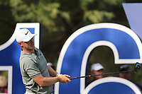 Alex Noren (SWE) on the 16th tee during the 2nd round of the DP World Tour Championship, Jumeirah Golf Estates, Dubai, United Arab Emirates. 16/11/2018<br /> Picture: Golffile | Fran Caffrey<br /> <br /> <br /> All photo usage must carry mandatory copyright credit (© Golffile | Fran Caffrey)