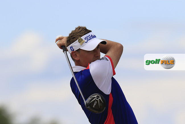\{prsn}\ during Thursday's Round 1 of the 2015 U.S. Open 115th National Championship held at Chambers Bay, Seattle, Washington, USA. 6/18/2015.<br /> Picture: Golffile   Eoin Clarke<br /> <br /> <br /> <br /> <br /> All photo usage must carry mandatory copyright credit (&copy; Golffile   Eoin Clarke)