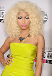 LOS ANGELES, CA - NOVEMBER 18: Nicki Minaj attends the 40th Anniversary American Music Awards held at Nokia Theatre L.A. Live on November 18, 2012 in Los Angeles, California.