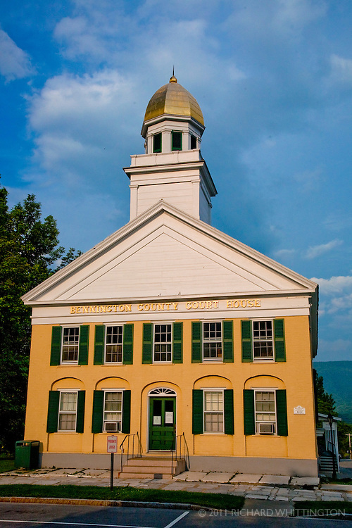 County courthouse in Manchester, Vermont.