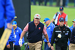 Phil Mickelson makes his way to the 6th tee during Practice Day 3 of the The 2010 Ryder Cup at the Celtic Manor, Newport, Wales, 29th September 2010..(Picture Eoin Clarke/www.golffile.ie)