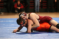26 February 2006: Stanford's Ray Blake (165 lbs) during the Pac-10 Wrestling Championships at Maples Pavilion in Stanford, CA.