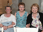 Margaret Owens, Ann Martin and Frances Owens pictured at the Johnstons Folk Music Festival in the Conyngham Arms hotel Slane. Photo:Colin Bell/pressphotos.ie