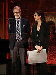 Transport Group: Jack Cummings III and Lori Fineman attends The New York Drama Critics' Circle Awards at Feinstein's/54 Below on May 10, 2018 in New York City.