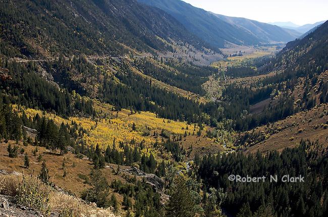 Trail Creek Rd behind Sun Valley, Idaho