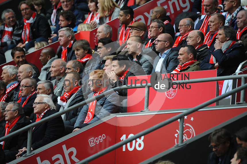 VOETBAL: AMSTERDAM: 16-04-2017, AJAX - SC Heerenveen, uitslag 5 - 1, oud spelers AJAX, ©foto Martin de Jong