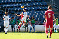 San Diego, CA - Sunday January 29, 2017: Graham Zusi during an international friendly between the men's national teams of the United States (USA) and Serbia (SRB) at Qualcomm Stadium.