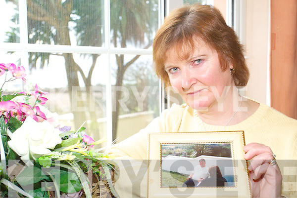 APPEAL: Marie Horgan, Ballyheigue who is appealing with members of the public to speak out if they know who killed her brother Sean Poland on New Year's Day 2002.   Copyright Kerry's Eye 2008