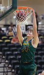SPEARFISH, SD: NOVEMBER 11:  Fraser Malcom #24 of Black Hills State dunks during their game against Yellowstone Christian Saturday at the Donald E. Young Center in Spearfish, S.D.   (Photo by Dick Carlson/Inertia)