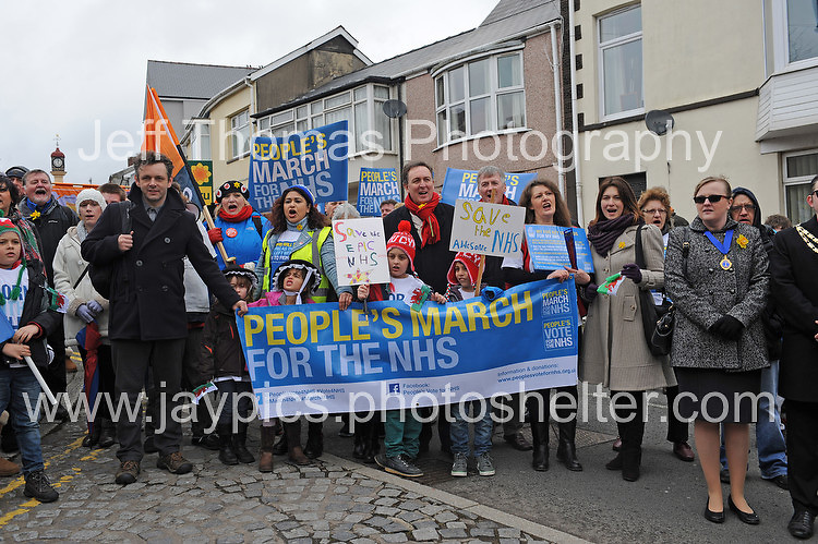 The rally approaches Bedwellty Park. <br />
